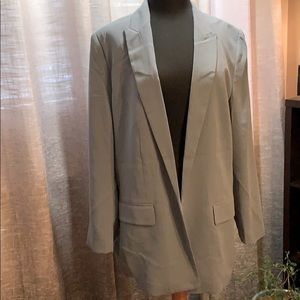 H&M new with tags Pale Blue Open Blazer